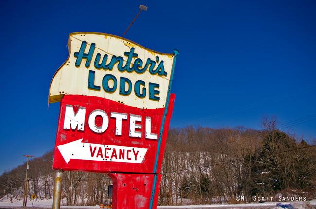 Hunter's Lodge, Delaware, NJ