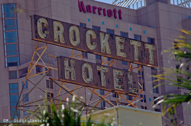 Crockett Hotel, San Antonio, TX