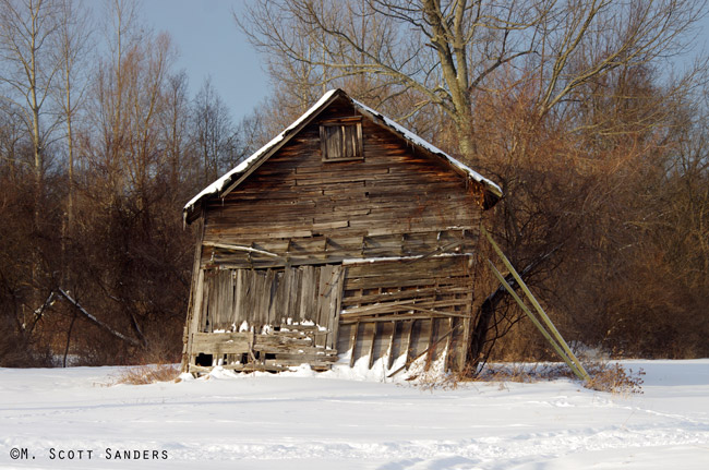 Shed in Slaterville Springs, NY