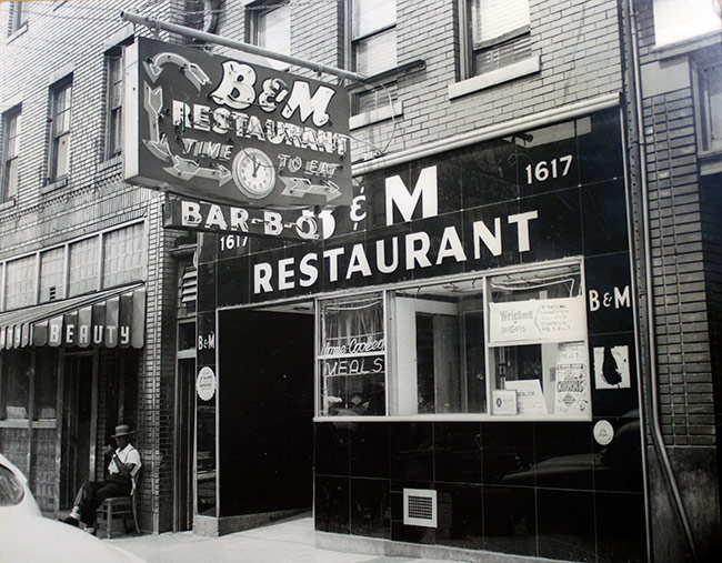 The B&M Restuarant, Pittsburgh, PA