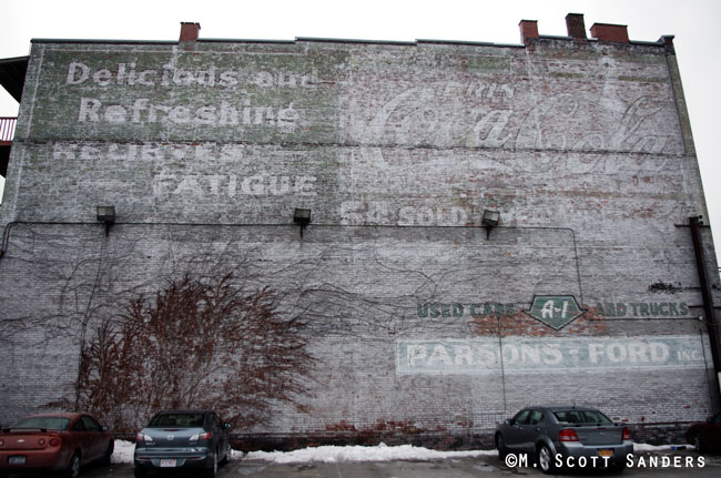 Coca Cola Ghost Sign, Binghamton, NY