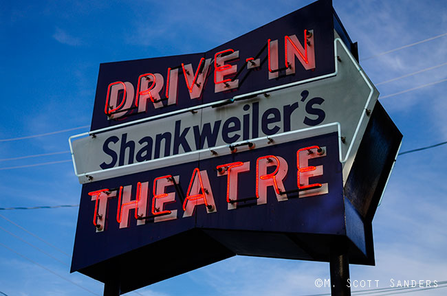 Shankweiler's Neon Sign, Orefield, PA
