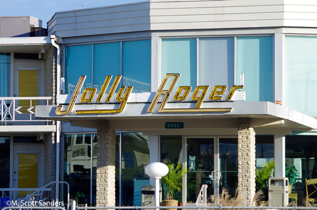 Jolly Roger sign, Wildwood, NJ