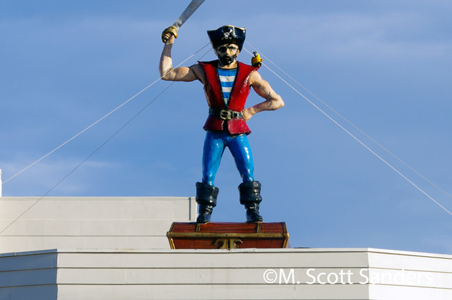 Jolly Roger Statue