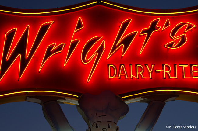 Wright's Dairy-Rite, Staunton, VA from November 2013