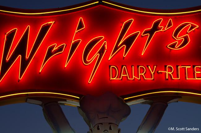 Wright's Dairy-Rite, Staunton, VA from November 2013