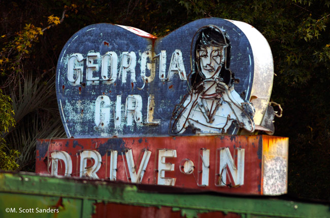 Georgia Girl Drive-In, Woodbine, GA