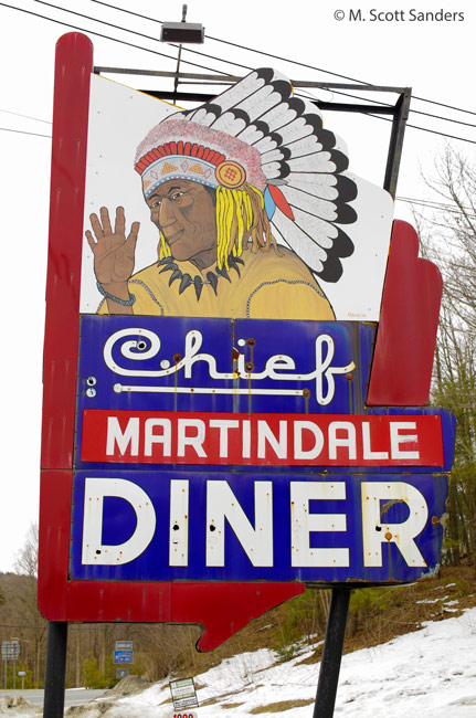 Chief Martindale Diner, Craryville, NY