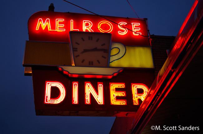 Melrose Diner Sign