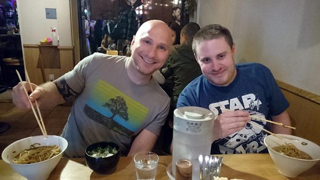 Dan and Derek's Ramen Adventure