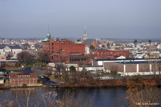 Allentown Riverfront, March 2009
