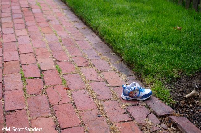 Found: One Shoe
