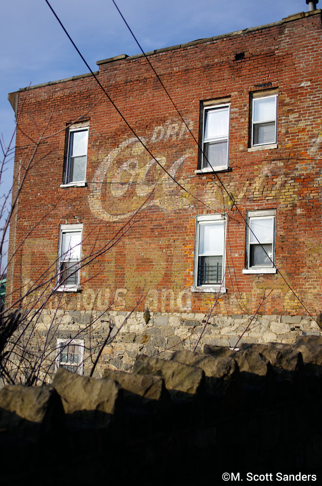Coca Cola Ghost Sign, Phillipsburg, NJ